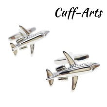High Quality Design Mens Cufflinks Button New Arrival  Brand Fashionable Aircraft Modeling Wholesale Free Shipping