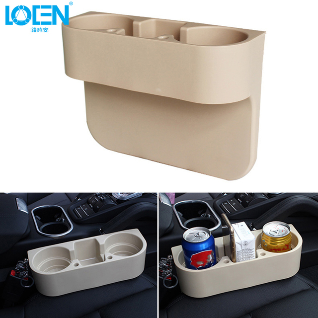 Auto Car Seat Gap Pocket Catcher Organizer Leak-Proof Storage Box New Organizador De Asiento Trasero Hot Selling Car Cup Holder
