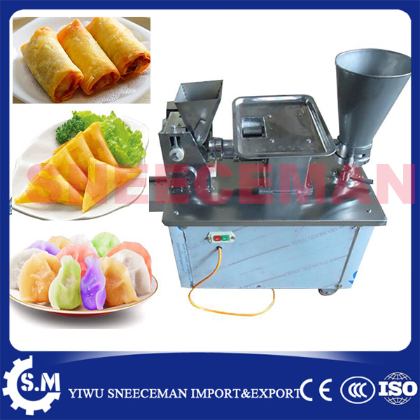 CE certificate automatic gyoza maker steamed dumpling make automatic stainless steel dough making machine chinese dumpling maker high quality household manual hand dumpling maker mini press dough jiaozi momo making machine
