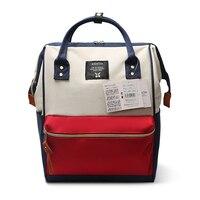 Japanese Oxford School Backpacks For Teenage Girls Cute Girl Vintage College Backpack Bag Women Lightweight A Ring Backpack