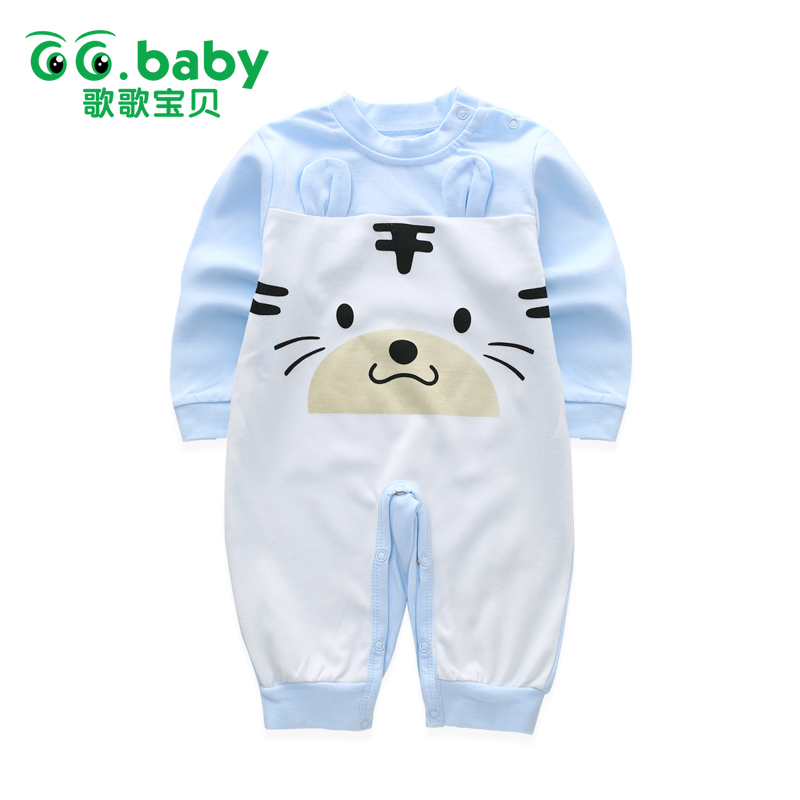 2017 Spring Autumn Newborn Animal Bear Romper Cotton Baby