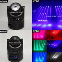 6lot Professional stage lighting equipment mini beam moving head 60w china moving heads