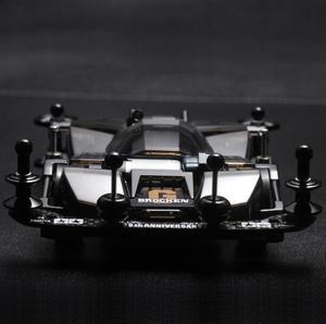 Image 2 - 1 Set Black Transparent BROCKEN GIGANT Car Model with Upgrade Spare Parts Kit for Tamiya Mini 4WD Car Model