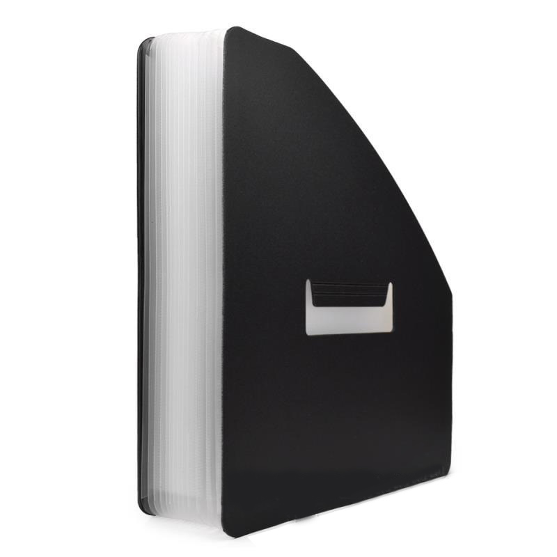 Vertical Organ Folder Big Document Bag Rainbow Accordion A4 Classification Test Papers Tool Business Expanding File Folders Fi