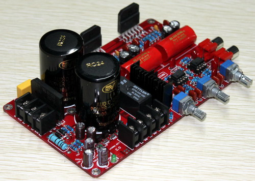 YJ LM3886 amplifier board dual AC26V 0 26V 2.0 channel NE5532 + LM3886 amplifier luxury 68W + 68W with 10000UF NOVER capacitor-in Amplifier from Consumer Electronics    3