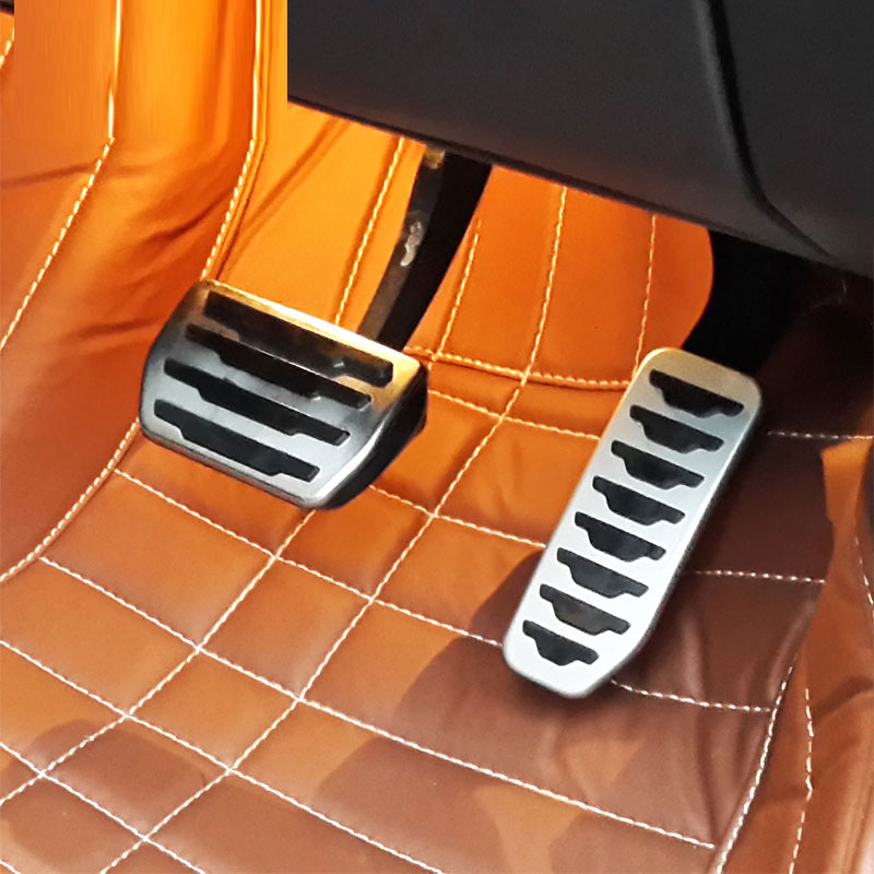 Brake Fuel Gas Pedal Pedales For Land Rover range rover Evoque Discovery Sport Jaguar F-PACE/XE Car Accessories image