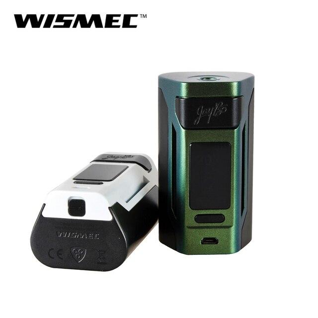 Оригинальный WISMEC Рел RX2 21700 TC поле Mod 230 Вт Выход в VW/TC/TCR режим 21700/18650 Батарея (не входит в комплект), e-сигарета