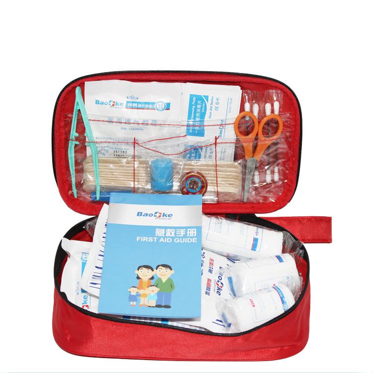 Mini First Aid Kit Lightweight Medical Emergency Bag Small Survival Kit For Children Sport Backpack Camping Emergencies Kit