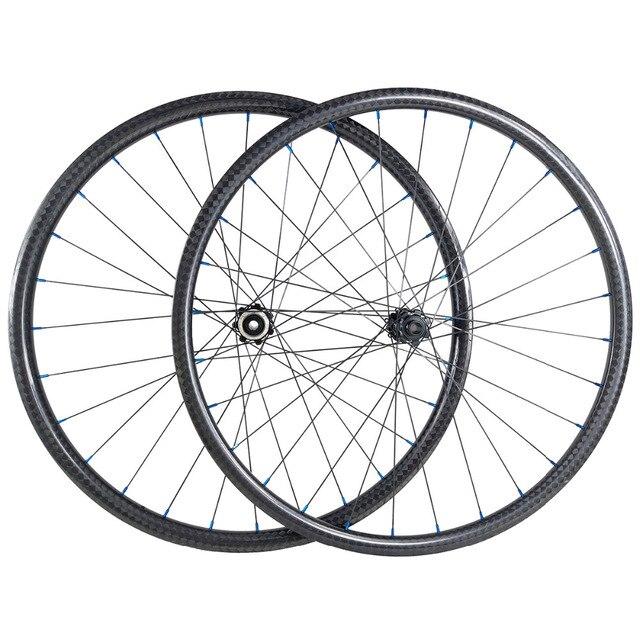 27.5er carbon mtb wheels 35mm width 650B mtb boost hubs 110X15MM 148X12MM UD/3K matte MTB wheels tubeless sapim CN424 XD
