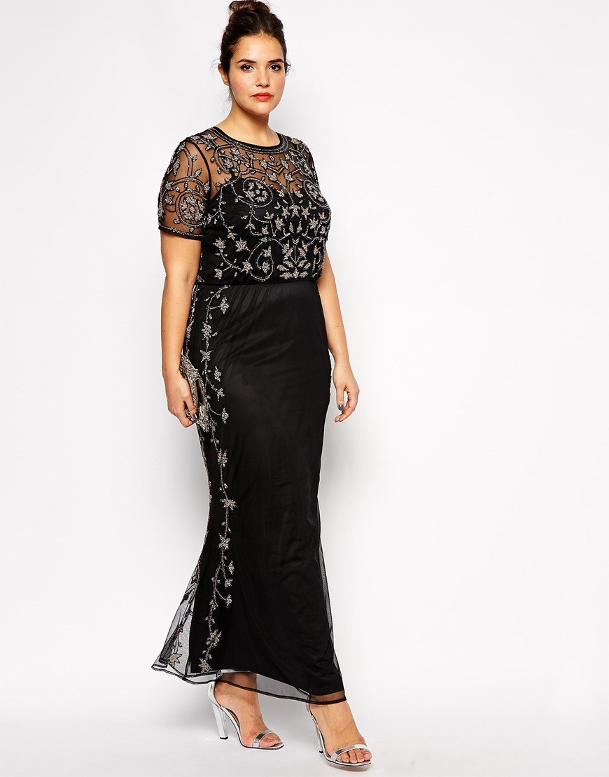 formal evening gowns plus size - Heart.impulsar.co