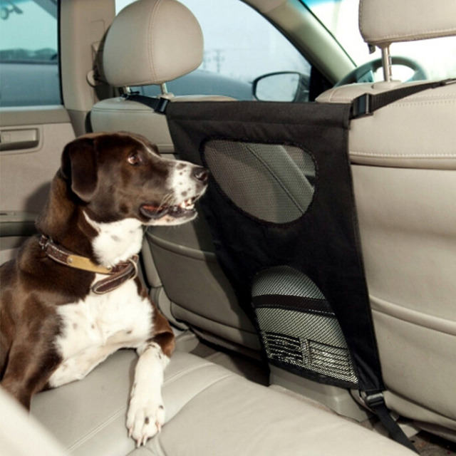 DogLemi New Car Pet Fencing for Dog Safty Protect Black Fashion 600D ...