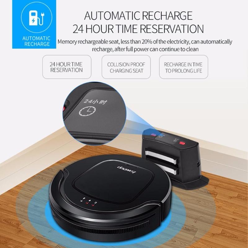 ISWEEP S550 Intelligent Robot Aspirateur 1000 pA Sans Fil Aspirateur Robot Auto Charge La Maison De Nettoyage Balayeuse Éponger