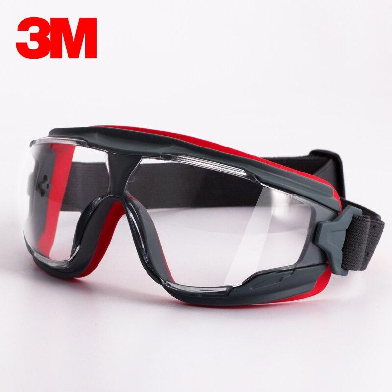 3M GA501 Goggles Windproof Sand Painted Antimist Anti-shock Dustproof Professional Safety Goggles KU003