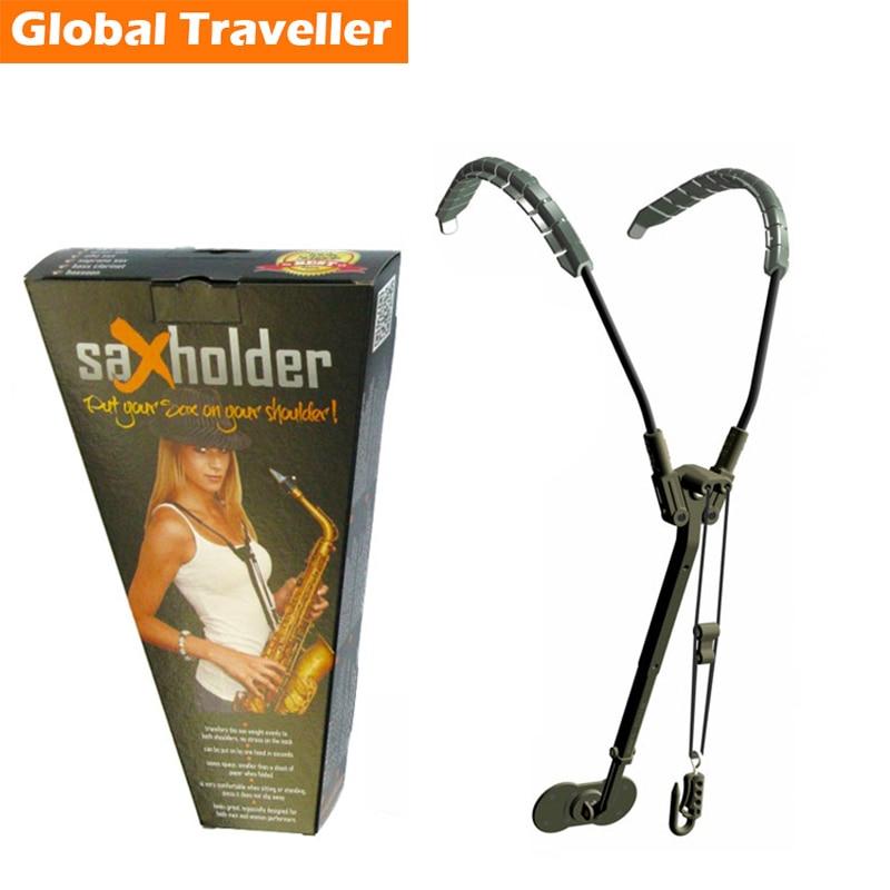 1 piece Sax holder Sax Strap Sax Shoulder Strap Harness for Alto & Tenor Saxophone use Neck-released design