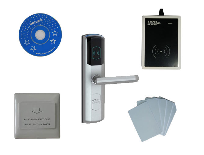 T57 hotel lock system,include T57 hotel lock, usb hotel encoder ,energy saving switch,T57 card ,sn:CA 8036 kit