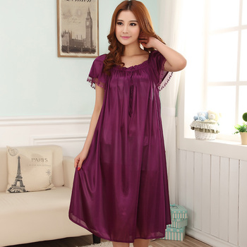 Loose Large Size Nightgowns for Women