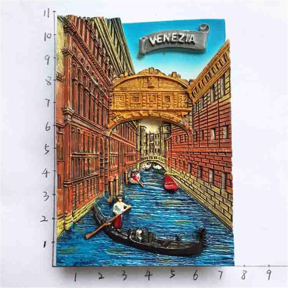 Lychee Italy Venice Gondola Fridge Magnet Tourist Travel Souvenir ...