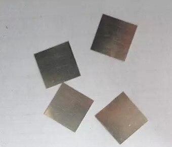 FREE SHIPPING Original Pure Platinum Sheet 30*30*0.2 Platinum Electrode / Platinum Purity 99.99% Sensor