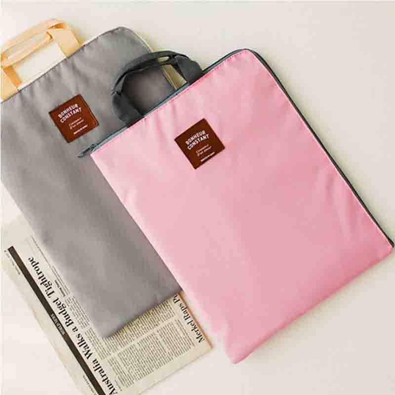 Oxford Canvas Briefcase Bag Men Cloth Zipper Multi-layer A4 For IPad Handset Tablet Computer Briefcase Tote Container Bag Bolsa