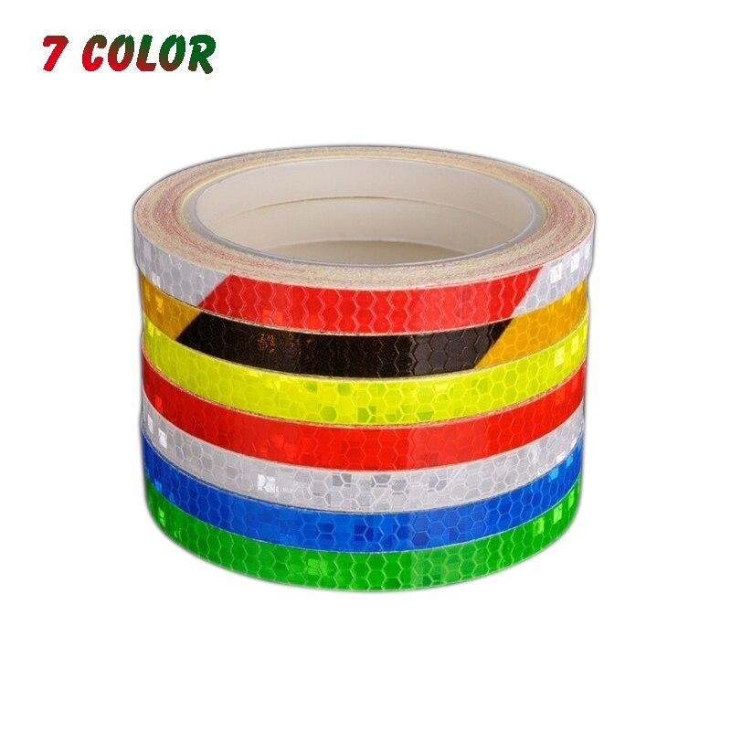Waterproof Cycling Bicycle Body Tape Strips 1 Roll Sticker Reflectors 5cm*300cm