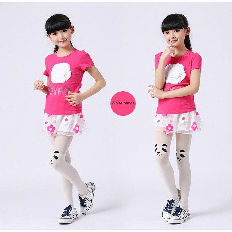 Spring-Autumn-Cute-Children-Kids-Baby-Girl-Little-Tights-Stockings-Knee-Tattoo-Velvet-Long-White-Cartoon-Kitten-Stockings-2