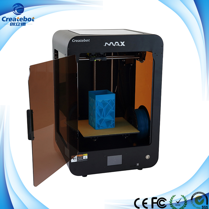 все цены на Superise !!! Createbot Large Metal Case 3D Printer 280*250*400mm with Touchscreen and Single Extruder онлайн