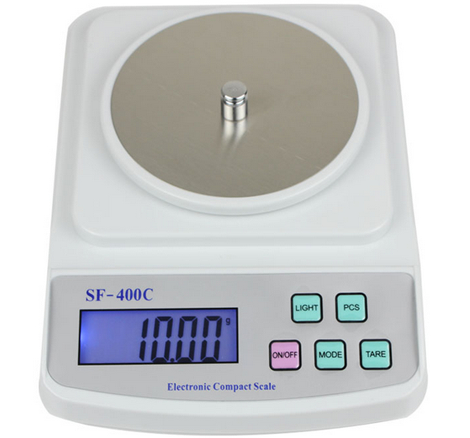2017 NEW SF-400C 500g/0.01g high precision weight Digital pocket electronic balance jewelry chinese medicine scale 1000g high precision balance with 0 001g measuring scales digital balance weight scale