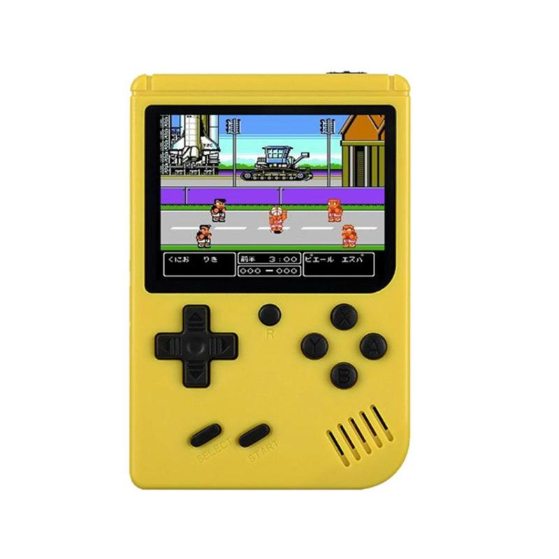 Game Console 8 Bit Retro Mini Pocket Handheld Player +Handle Built-in 168 Classic Games Best Gift for Child Nostalgic Player 19