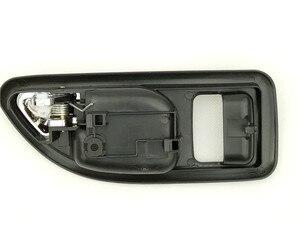 Image 5 - 4PCS BLACK INSIDE DOOR HANDLE FOR Great Wall Haval hover H3 H5 2010 2013 inside Handle car handle door knob