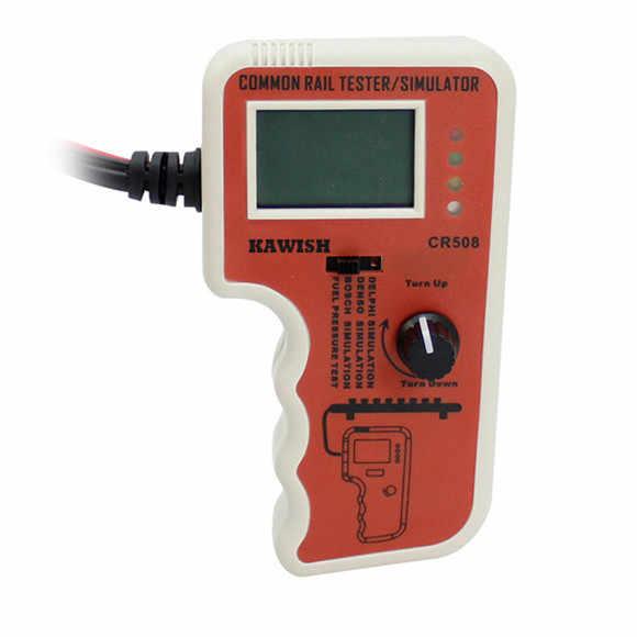 CR508 Diesel Common Rail tester ciśnienia i symulator dla Bosch Delphi Denso czujnik narzędzie testowe narzędzia diagnostyczne wysokiego ciśnienia
