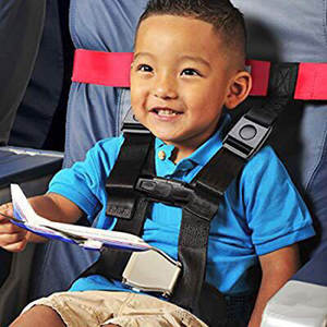 Travel-Harness Restraint-System Safety-Airplane Child for Aviation Belt-Designed Specifically