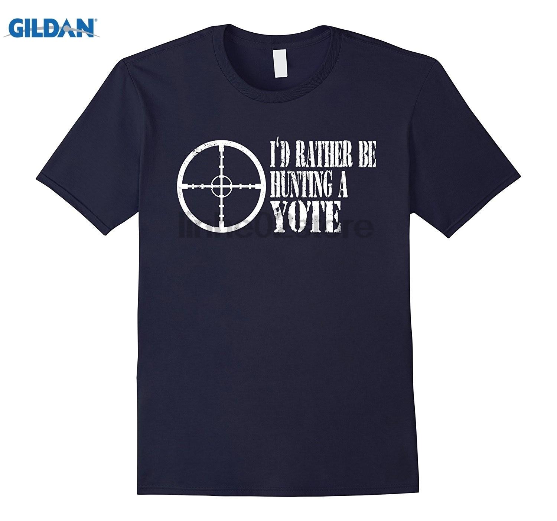 GILDAN Id Rather Be A Yote T Shirt Coyote Dress female T-shirt
