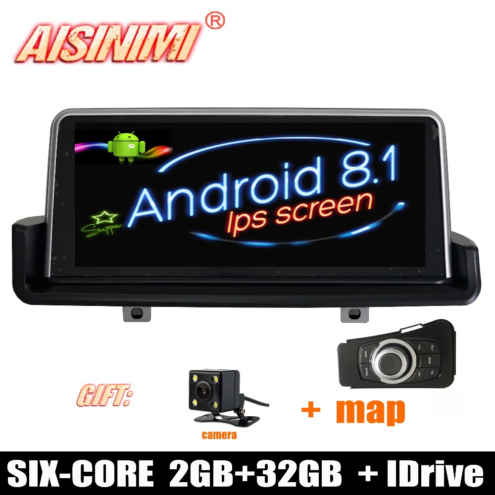 Android 8.1 Car Dvd Navi Player FOR BMW E90 2006-2012 supply with iDrive left driver audio gps stereo auto ips screen all in one