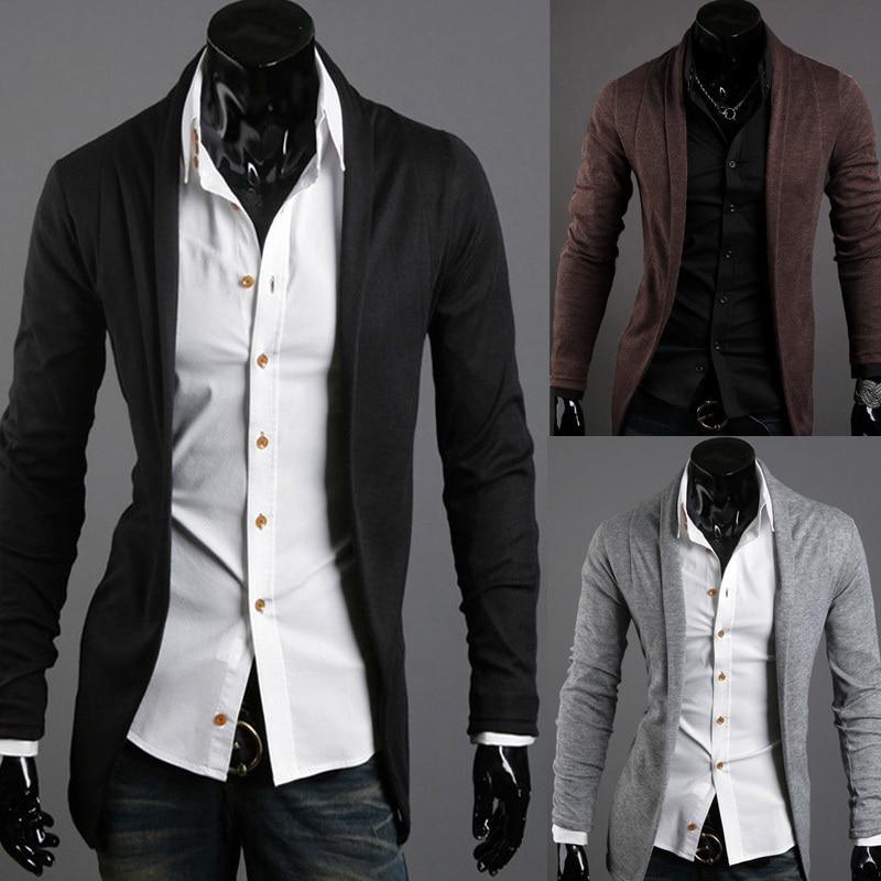 Online Shop hot sale free shipping Autumn fashion men's slim ...