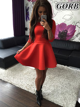 50pcs/lot wholesales Spring autumn hot sales fashion casual 3colors women dress Popular solid round neck long-sleeved dress