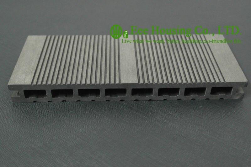 Anti-humidité Extérieure WPC platelage Pour piscine, Installation Facile, Peu D'entretien, bois plastique composite plancher de la terrasse