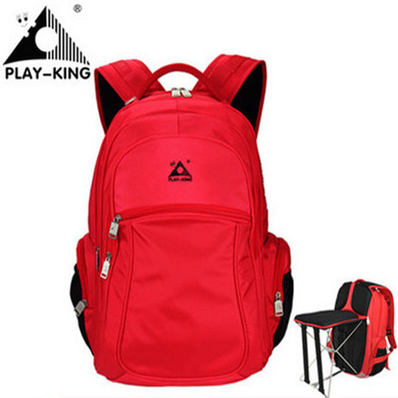 Outdoor Backpack PLAYKING Beach Chair Backpack Sport Bag Man Travel Bags Folding Stool Backpack Waterproof Fishing Mochila
