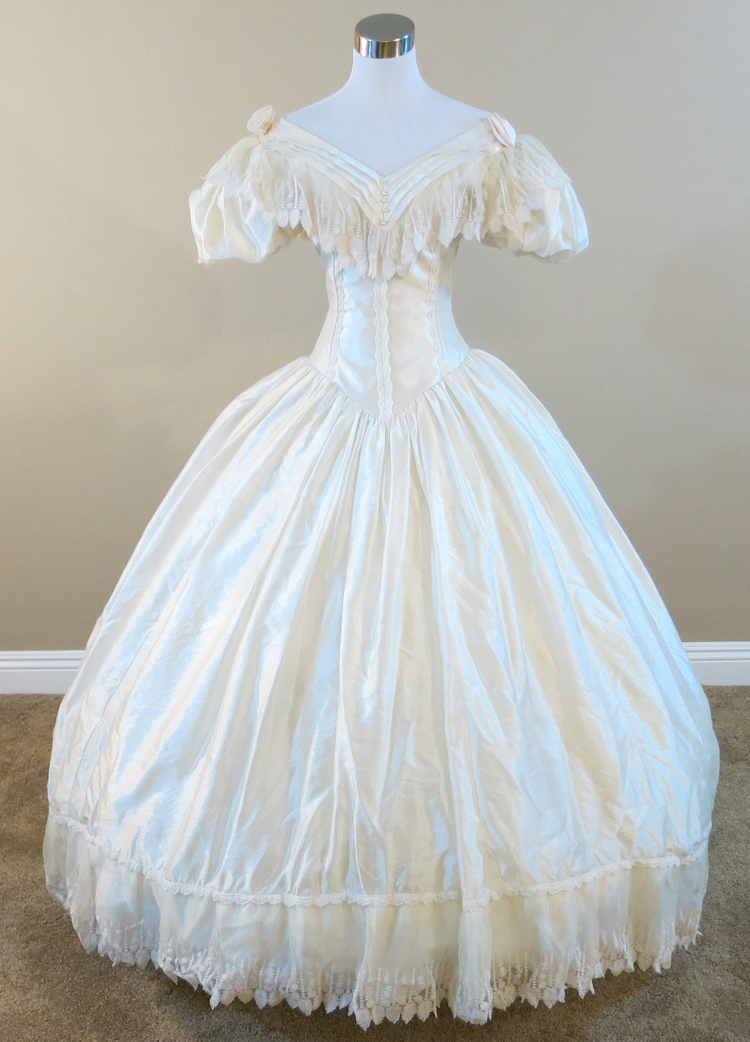 Popular civil war wedding gowns buy cheap civil war for Dresses for civil wedding