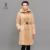 Mulheres BÁSICAS de Inverno Jaquetas E Casacos Moda Casual Rex Coelho Collar Mulheres Longas Parka Amassado Jaquetas Thinsulate 12F-C063-1