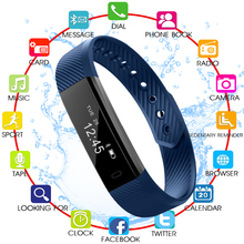 Smart Bracelet Band Sleep Activity Fitness Tracker Alarm Clock Pedometer Wristband For IOS Android pk Fitbits Smartband id115 smart bracelet band sleep activity fitness tracker alarm clock pedometer wristband for ios android pk fitbits smartband
