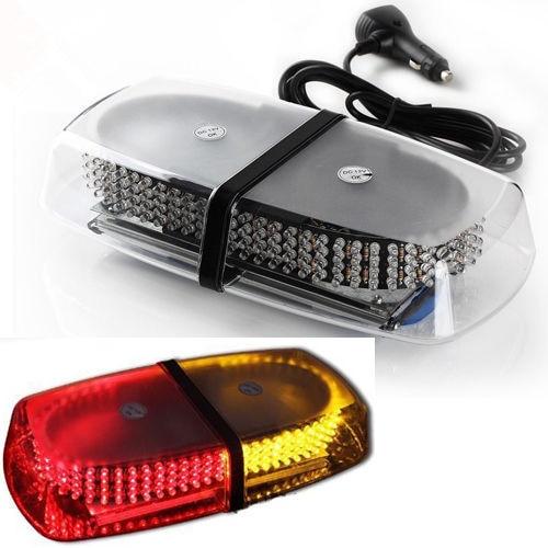 CYAN SOIL BAY High Power 240 LED Car Roof Flashing Warning light Magnet Police Emergency Flare Vehicle Light bar 12V cyan soil bay 1pc car interior light