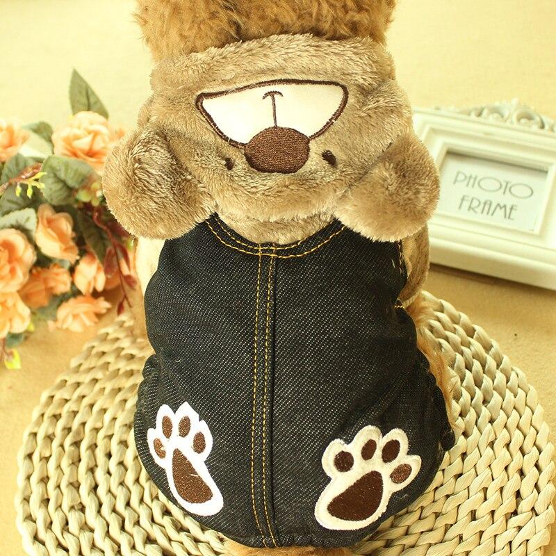 Winter Pet Dog Jumpsuit For Small Dogs Fleece Cotton Pet Dog Sweater Puppy Jumpsuit Yorkie Romper Cat Dog Jumpsuit Clothes RQ005 (5)