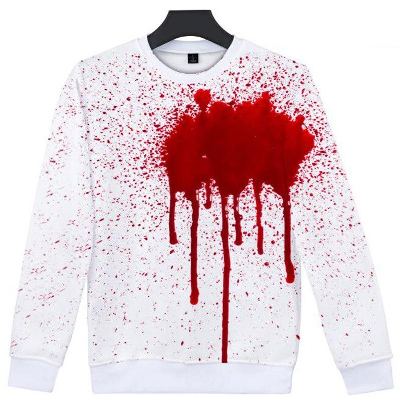 Oversize Hoodies Sweatshirts Women Pullover Hip Hop Hoodie Female Halloween 3D Hood Hooded Jacket Autumn Coat Warm Hoody