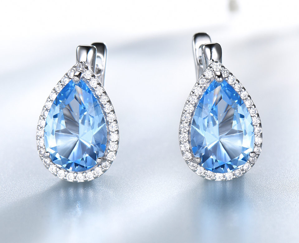 UMCHO-Sky-blue-topaz-925-sterling-silver-clip-earrings-for-women-EUJ087B-1PC_03