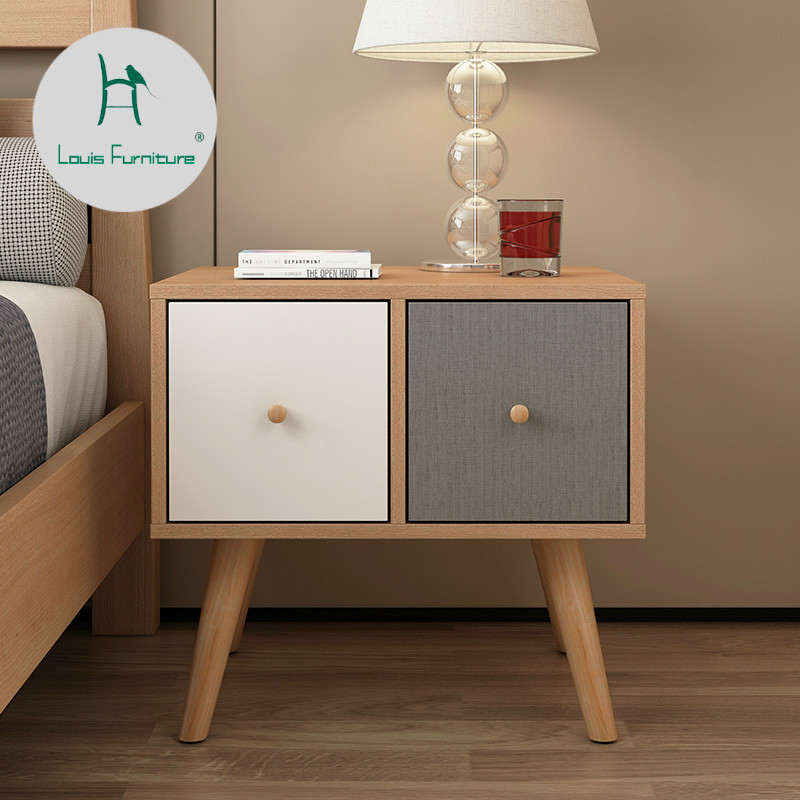 Nordic Anese Bedside Cabinets