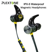 PLEXTONE BX343 Sports Wireless Headset Earphones In Ear Wireless Magnetic Bluetooth Headphones With Mic Microphone Mini