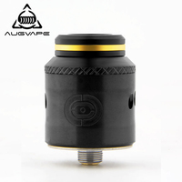 Augvape OCCULA RDA Atomizer 5ml 24mm Secured via Big M3 Scews Single and Dual Coil Airflow Domed Top Cap Vape Tank RDA