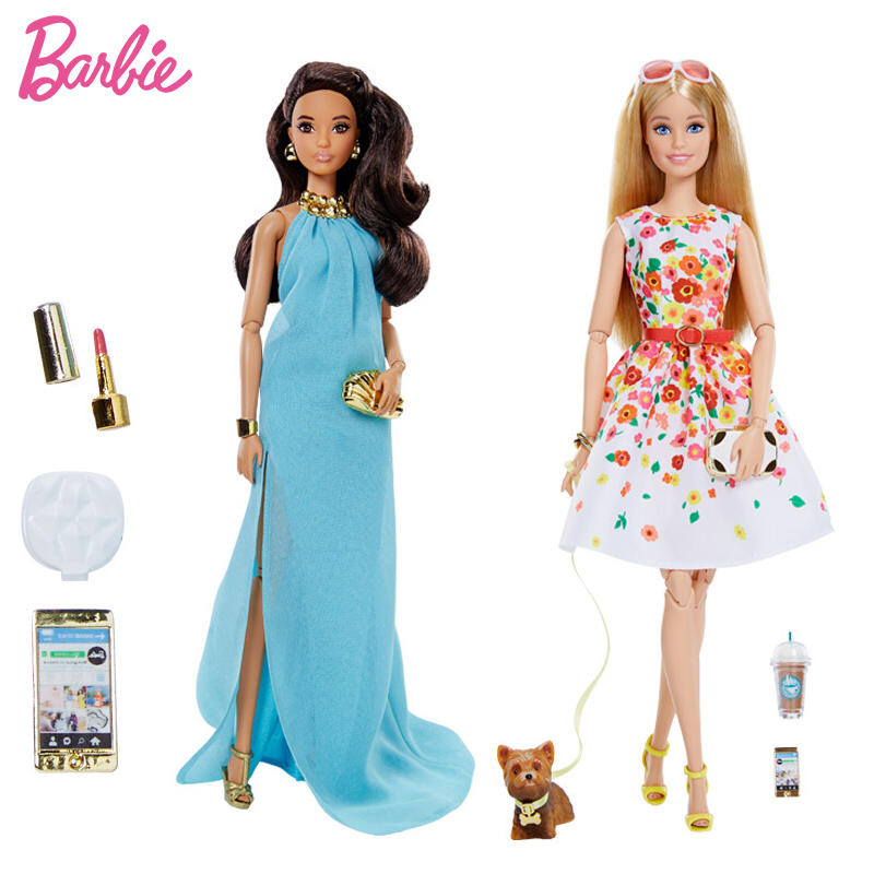 Barbie Limited Collection Doll City Shine Fashion Red Carpet The Look Best Girl Birthday Gift DVP54