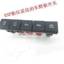 Аварийный переключатель давления в шинах внедорожный переключатель ESP выключатель OPS переключатель помощи при парковке для SKODA YETI 5LD 927 127/325/123/134/281