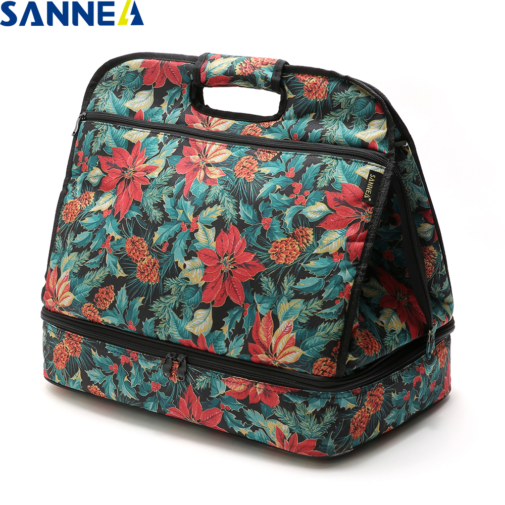 SANNE 2018 New Fashion Portable Lunch Bag Insulated Cooler Bags Thermal Food Picnic Lunch Bags Kids Lunch Box Bag Tote CX210 цена
